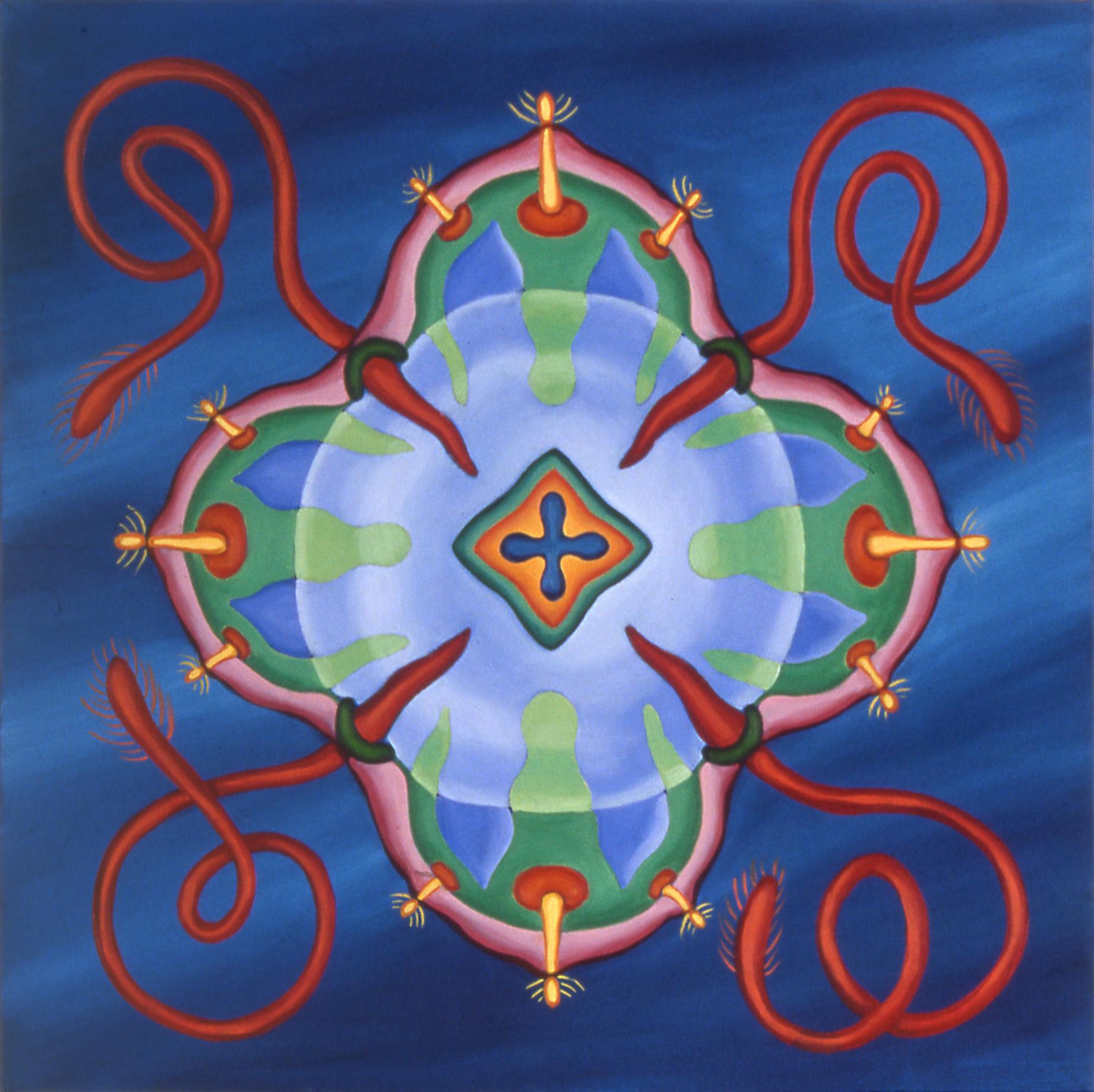 Blue Jellyfish 4, 2003