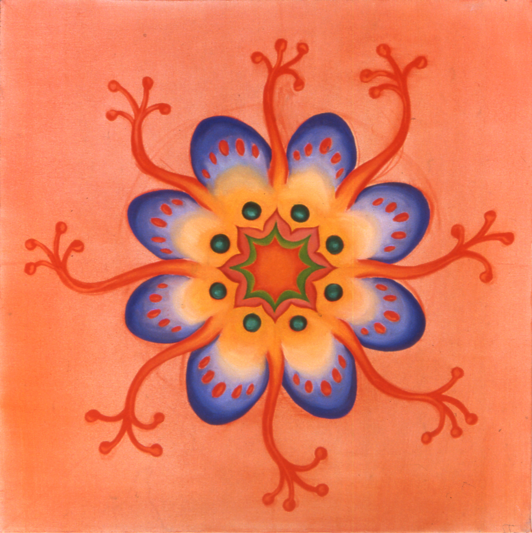 Orange Jellyfish, 2003