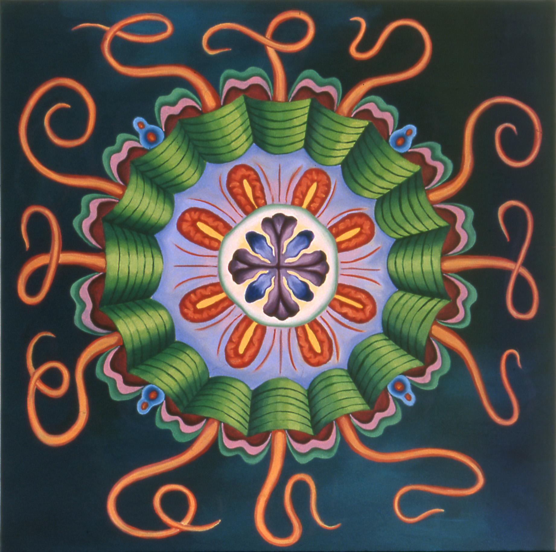 Teal Jellyfish, 2003