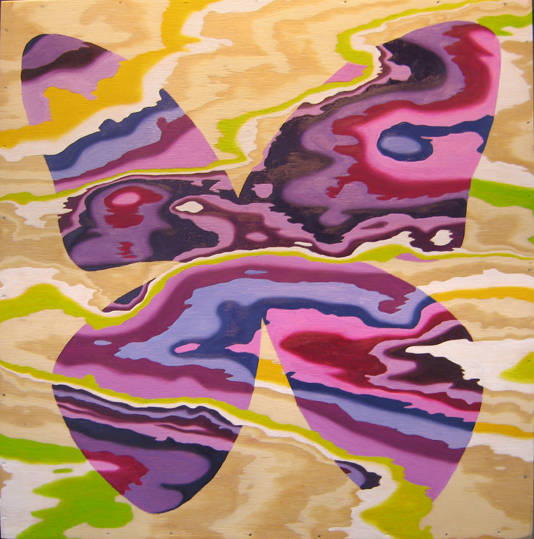Purple Butterfly, 2006