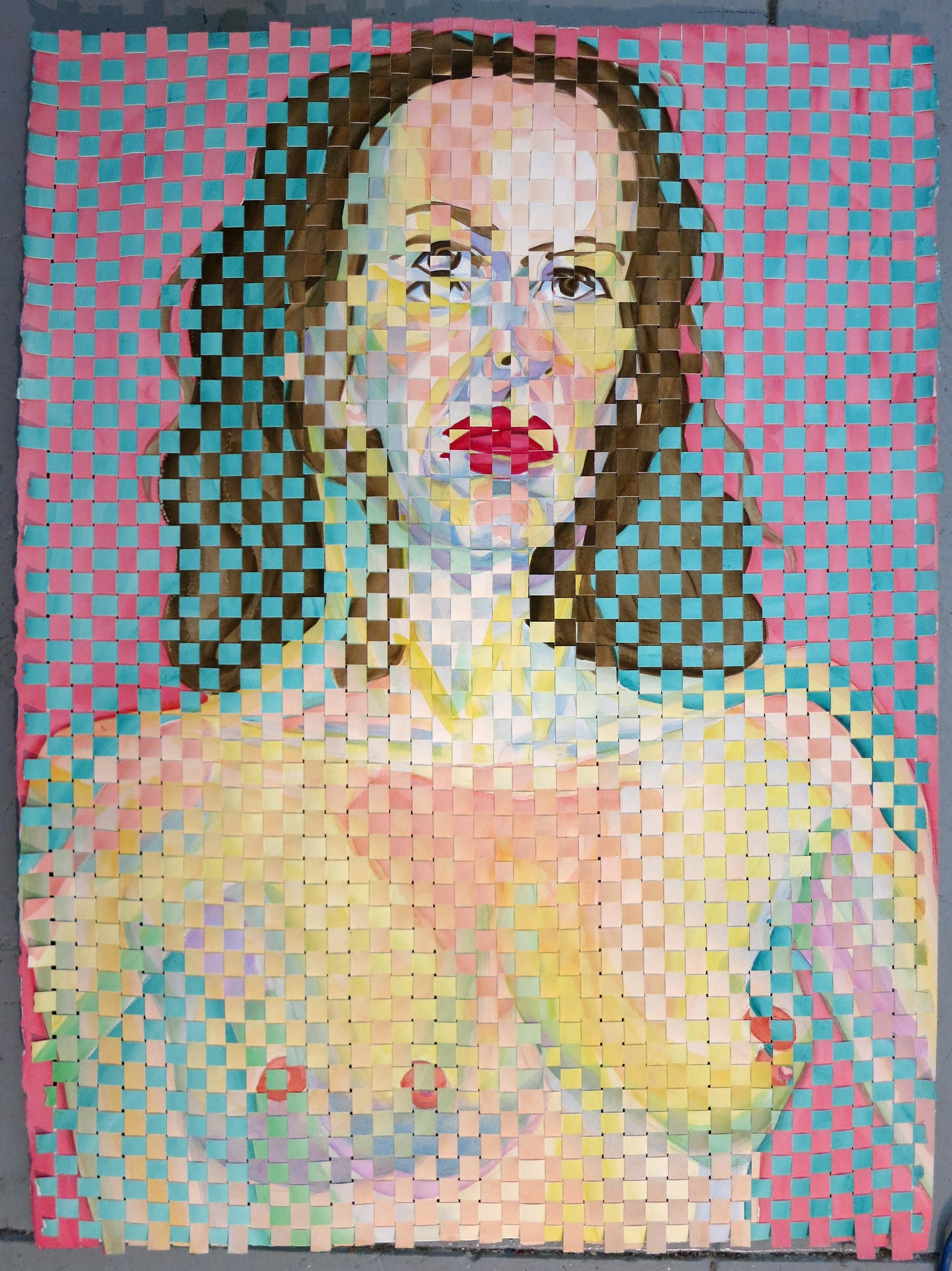 Woven Self-Portrait 020717
