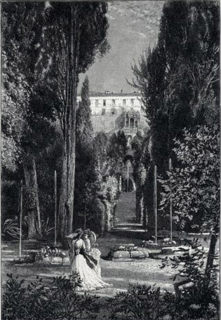 Gardens of Villa d'Este 1880 photo.jpg