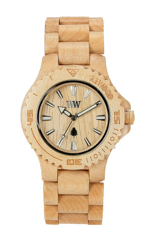 He got me a lovely WeWood watch