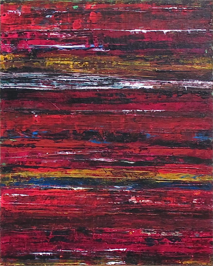 """20"""" x 16"""" Acrylic on Canvas"""