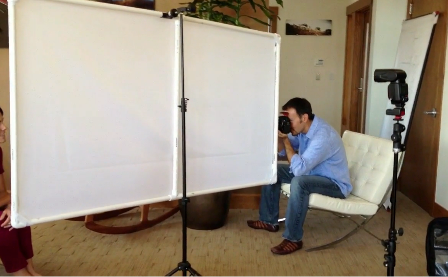 The D I Y  panel diffuser for photographers — The Kevin Kubota and