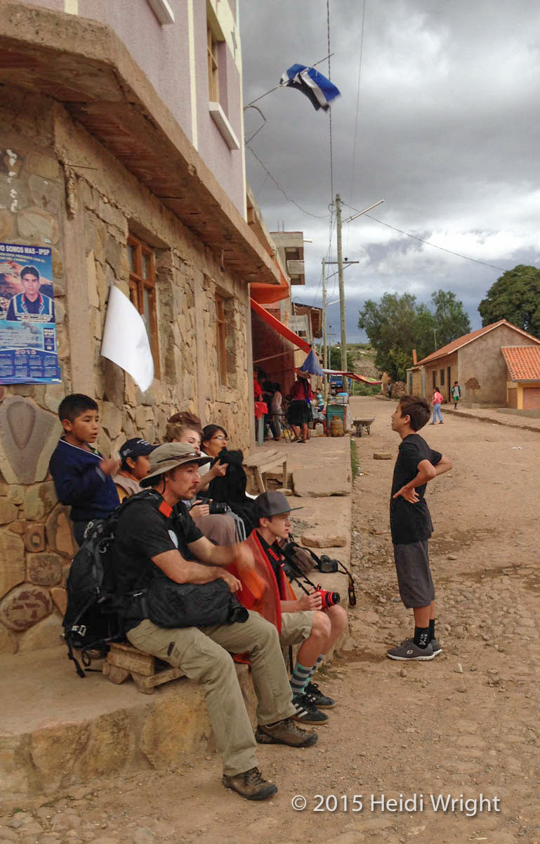At the end of the day, we sat with some locals, waiting for the thunder and lightning storm to arrive that evening.