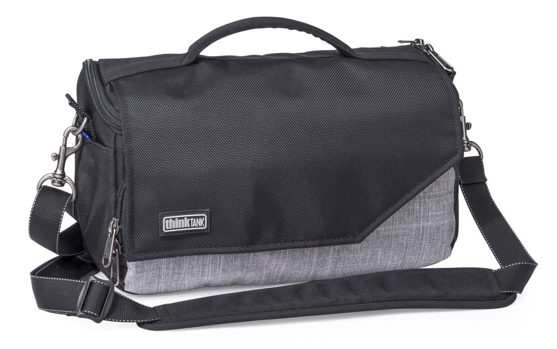 Vegans can still benefit from a slick new ThinkTank bag as well. This mirrorless mover is pretty cool.