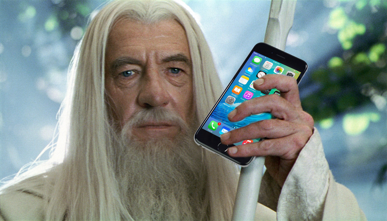 Gandalf with iphone.jpg