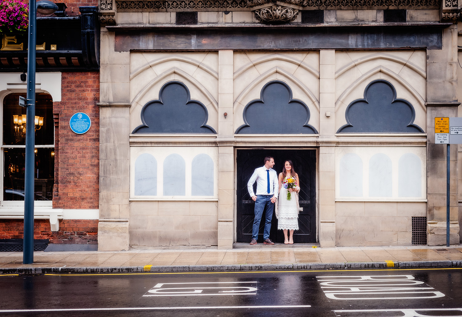 Wedding portraits by wedding photographers at Ripe Photography in the U.K.