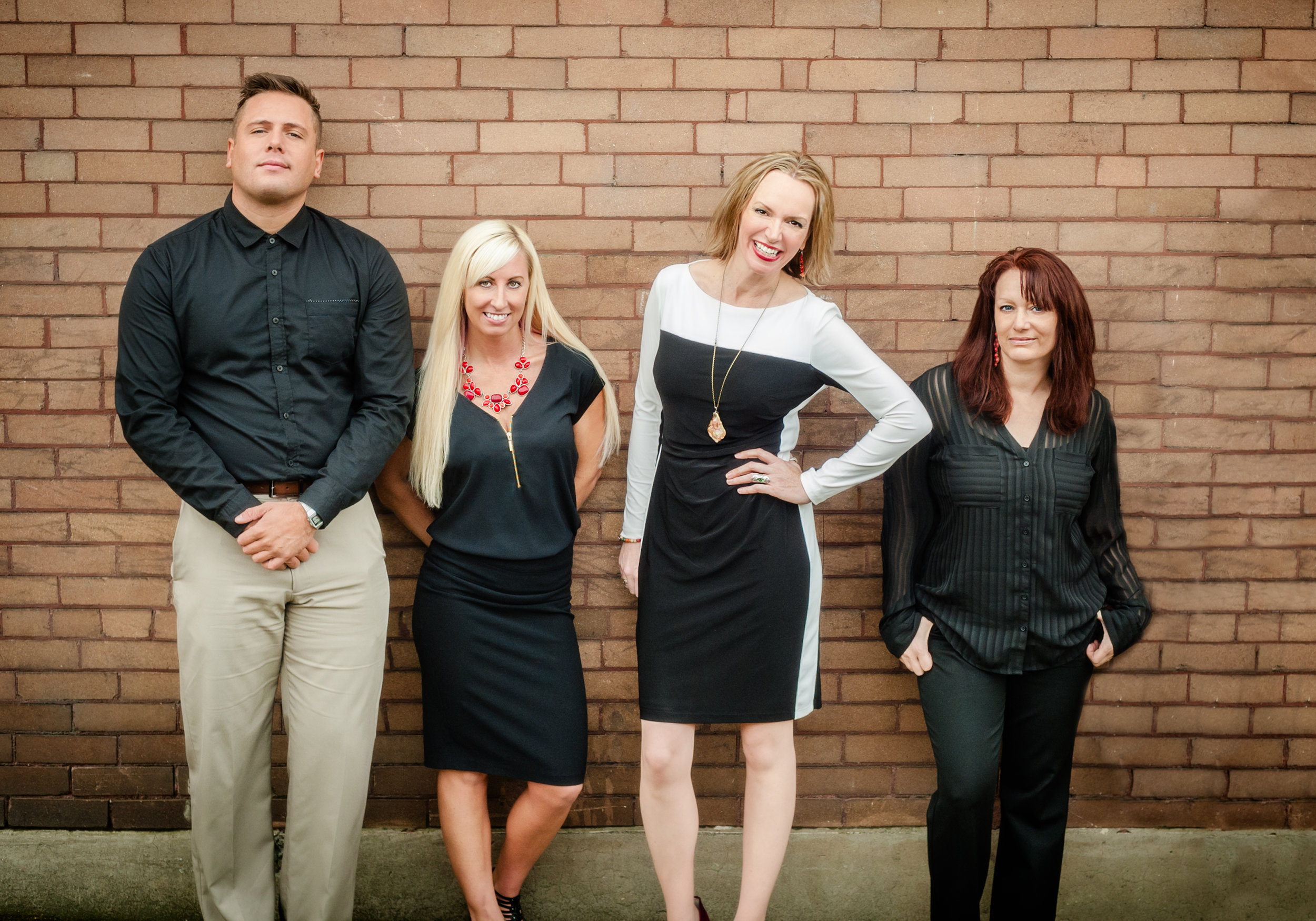 Commercial portrait of realty group by photographers at Ripe Photography in Portland, Oregon.