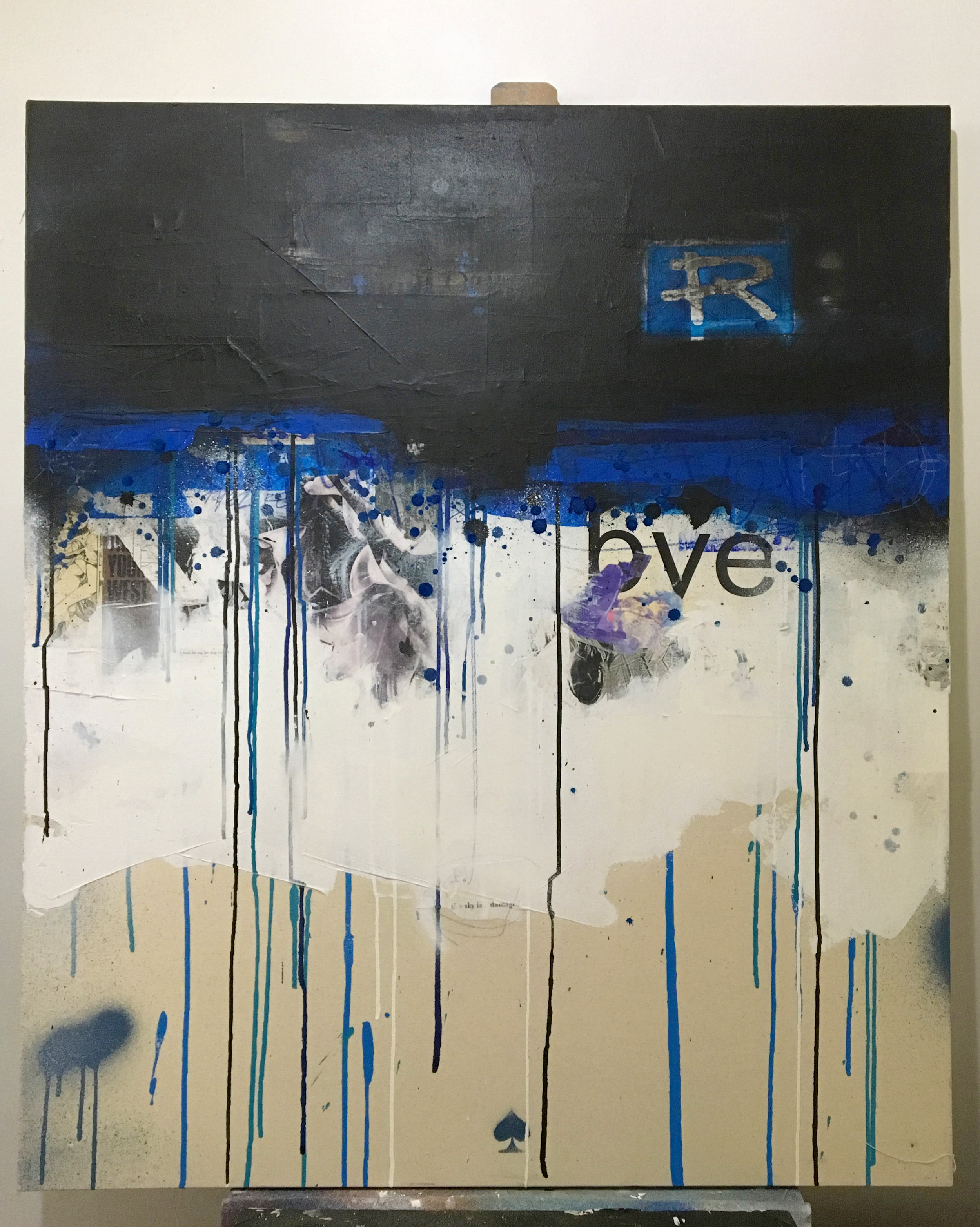 Possible Entry 1 - Blue Canvas (New - in progress)