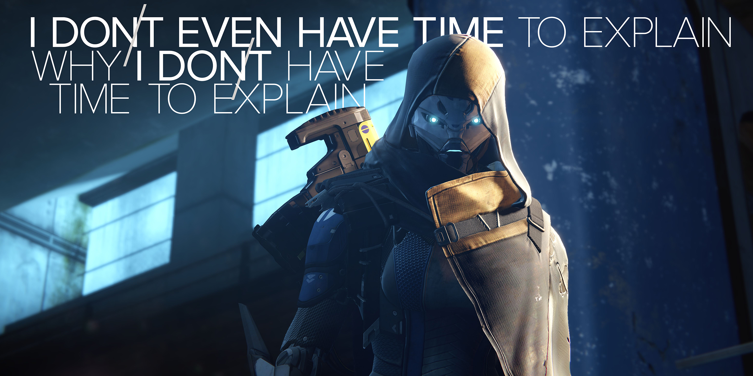 Destiny 1 2K Wallpaper - No Time to Explain
