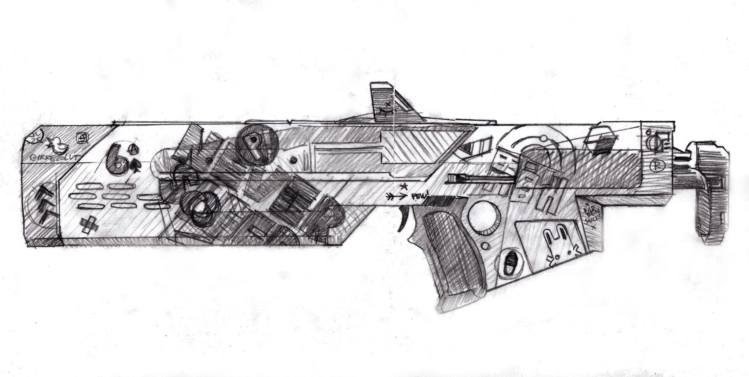 Jade Rabbit Sketch