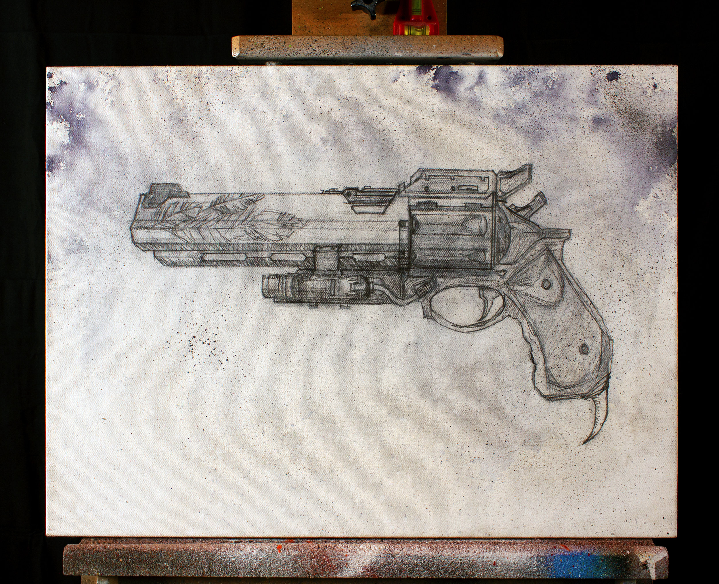 Hawkmoon (D1) (WIP - May 14 2019) - background and sketch only