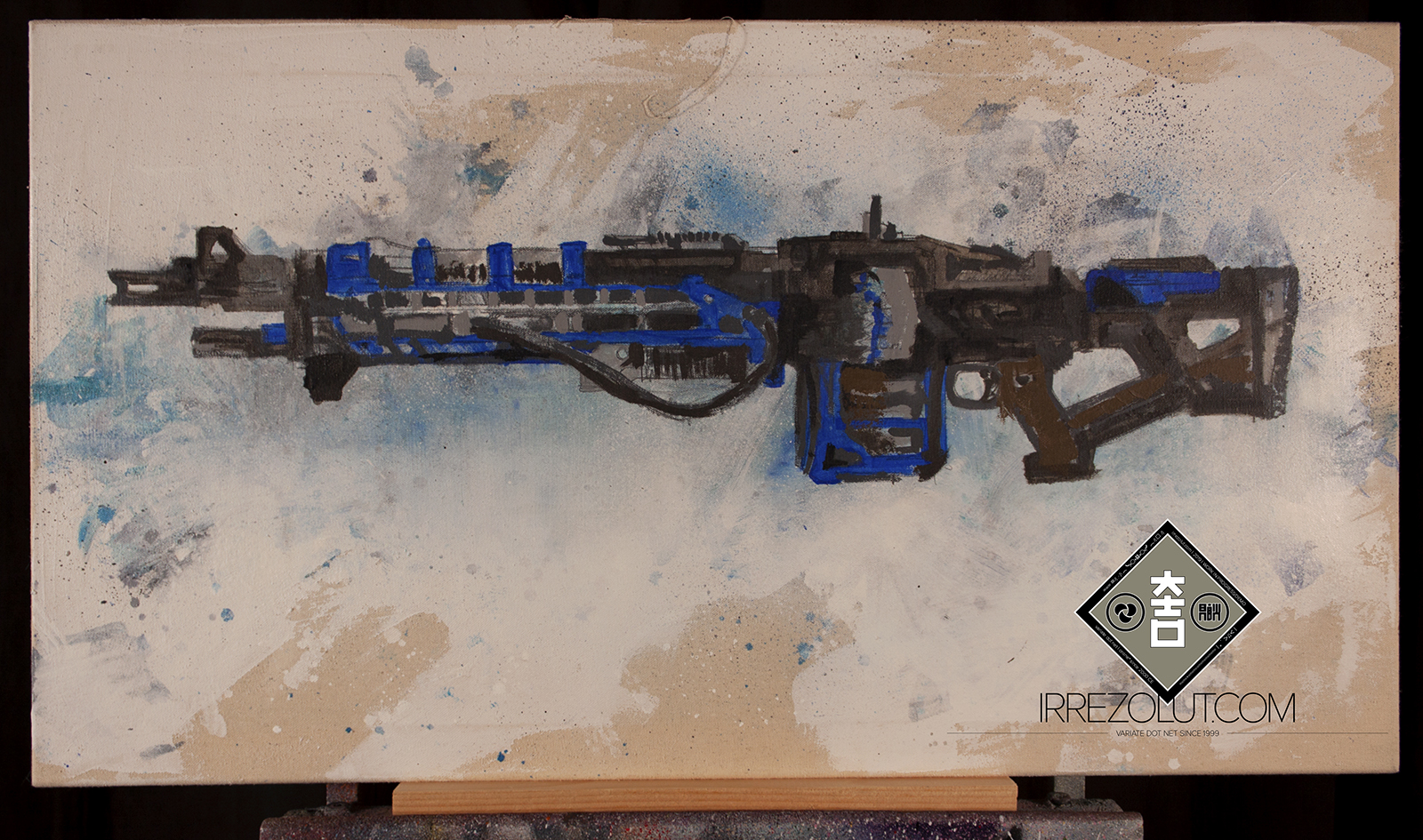 Thunderlord (WIP - June 5 2019) - few layers added - base layers/colors defined