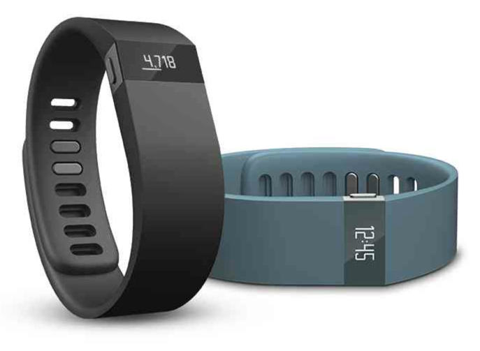 Fitbit Force in Black and Slate (aka Cyan, in my opinion)