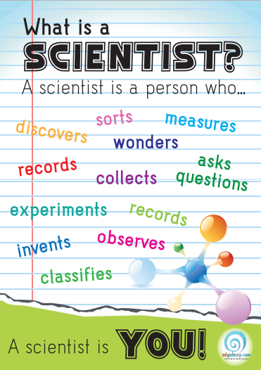 What is scientist poster