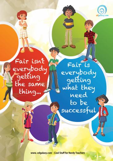 Classroom fairness poster