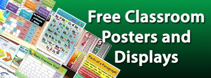 free posters for teachers by mail
