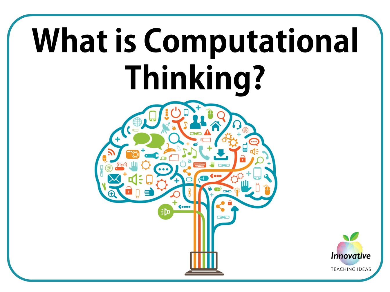 View 6 poster Computational Thinking series