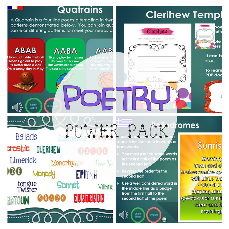 Seven Simple Poetry Styles Your Students Will Love