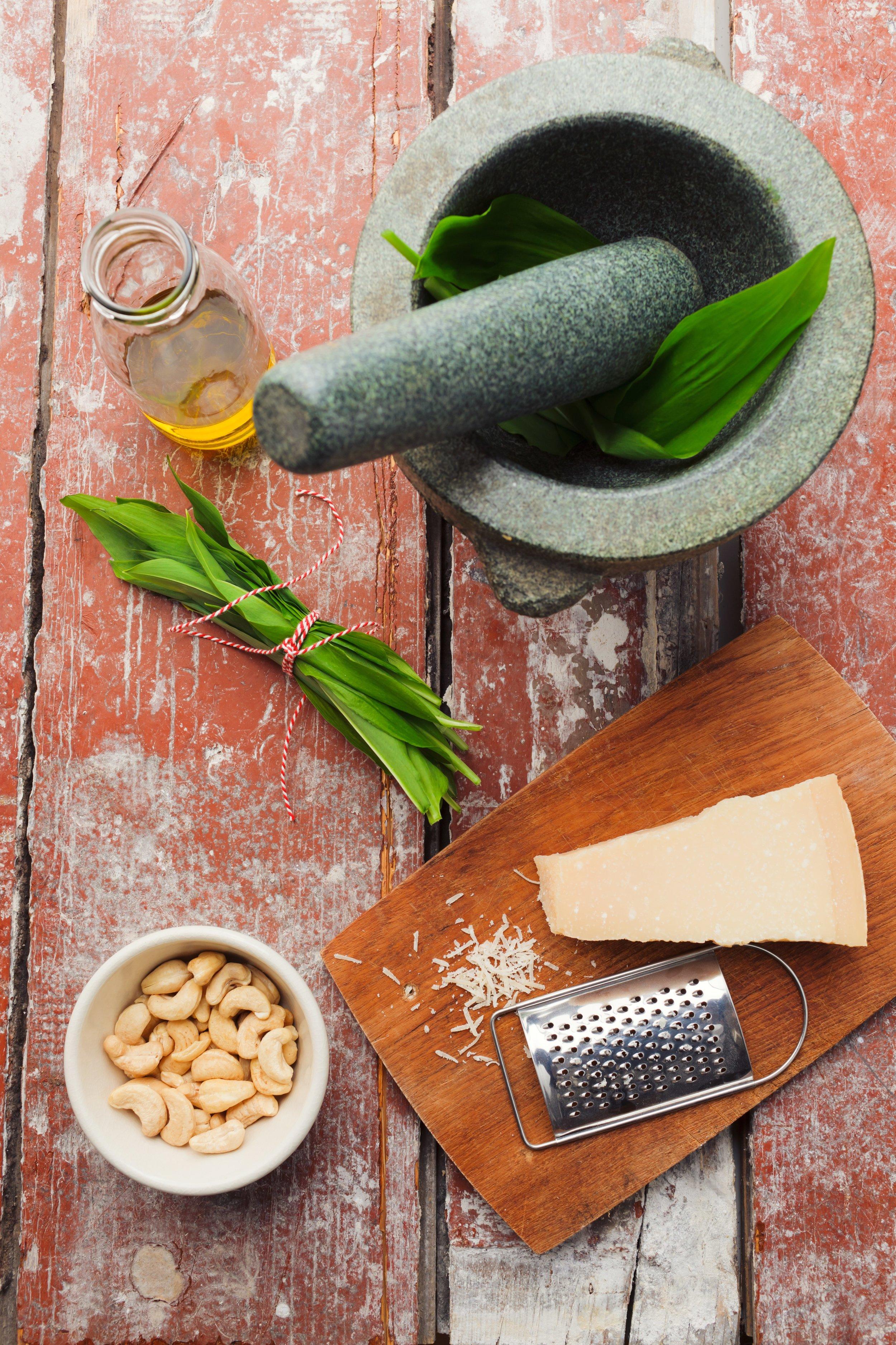 Bärlauch-Pesto - foodphotolove.de
