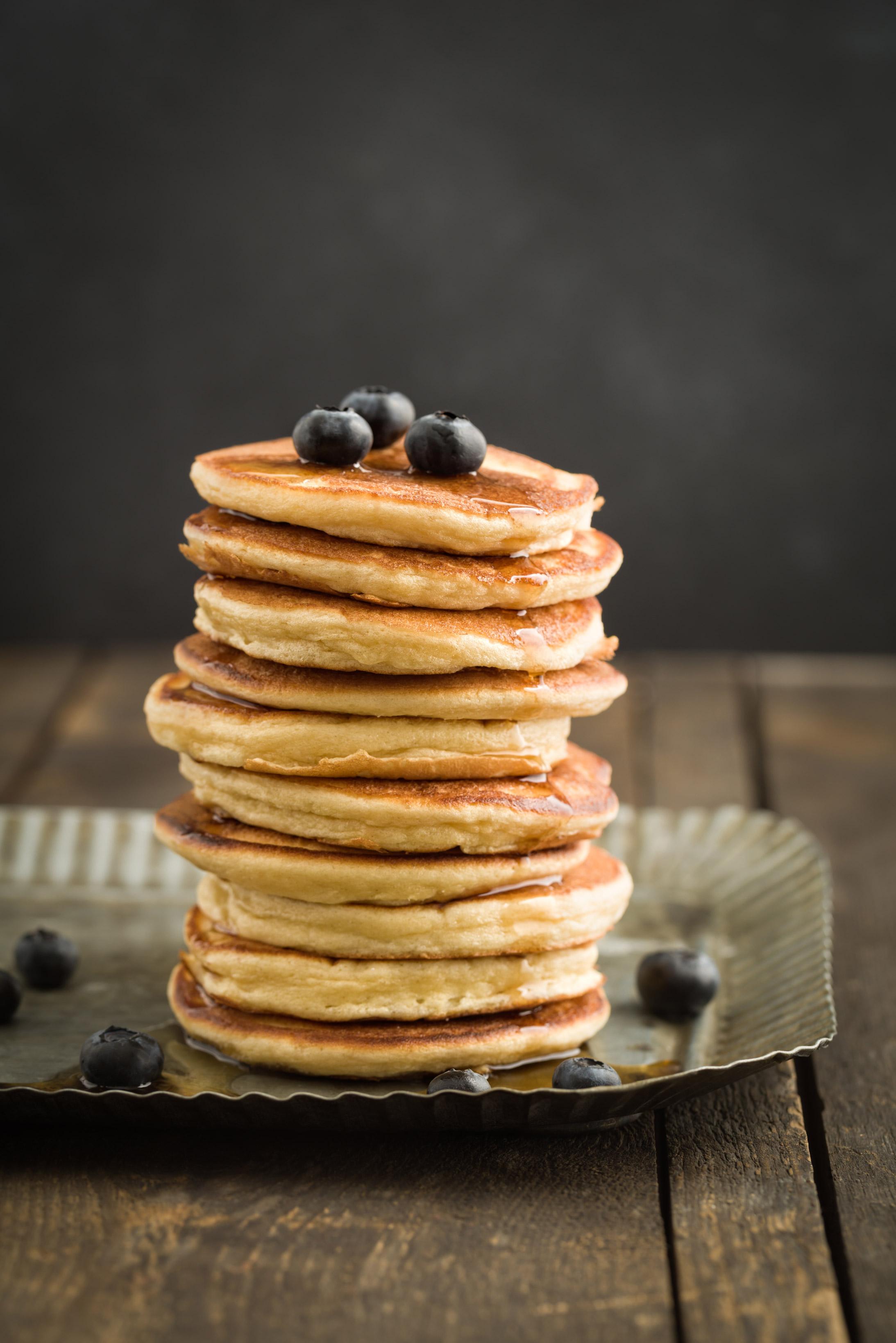 American pancakes - foodphotolove.de