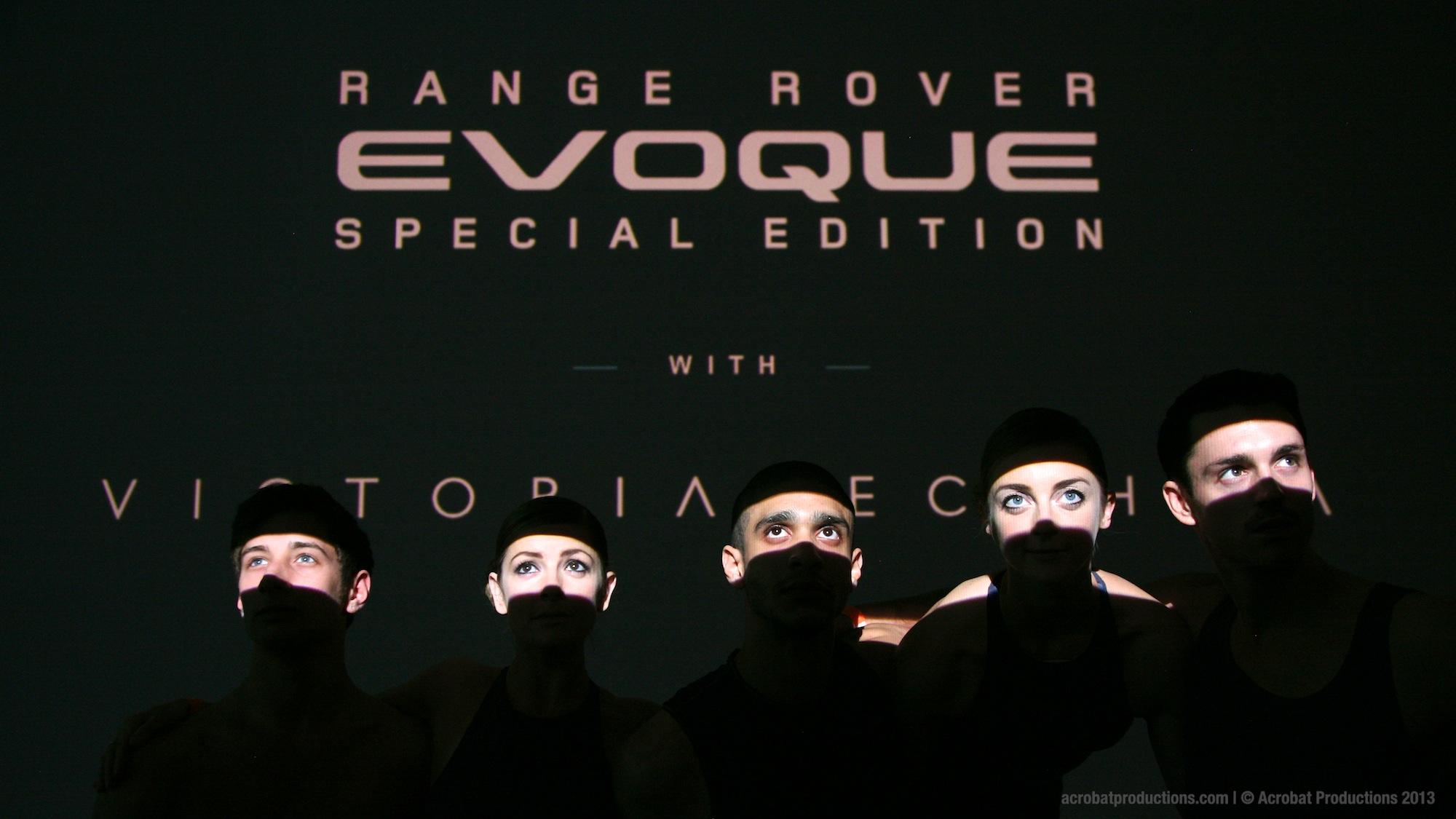 Range Rover Evoque Beijing with Victoria Beckham