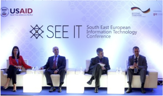 Speakers for the SEE IT Conference.Sarajevo, BiH