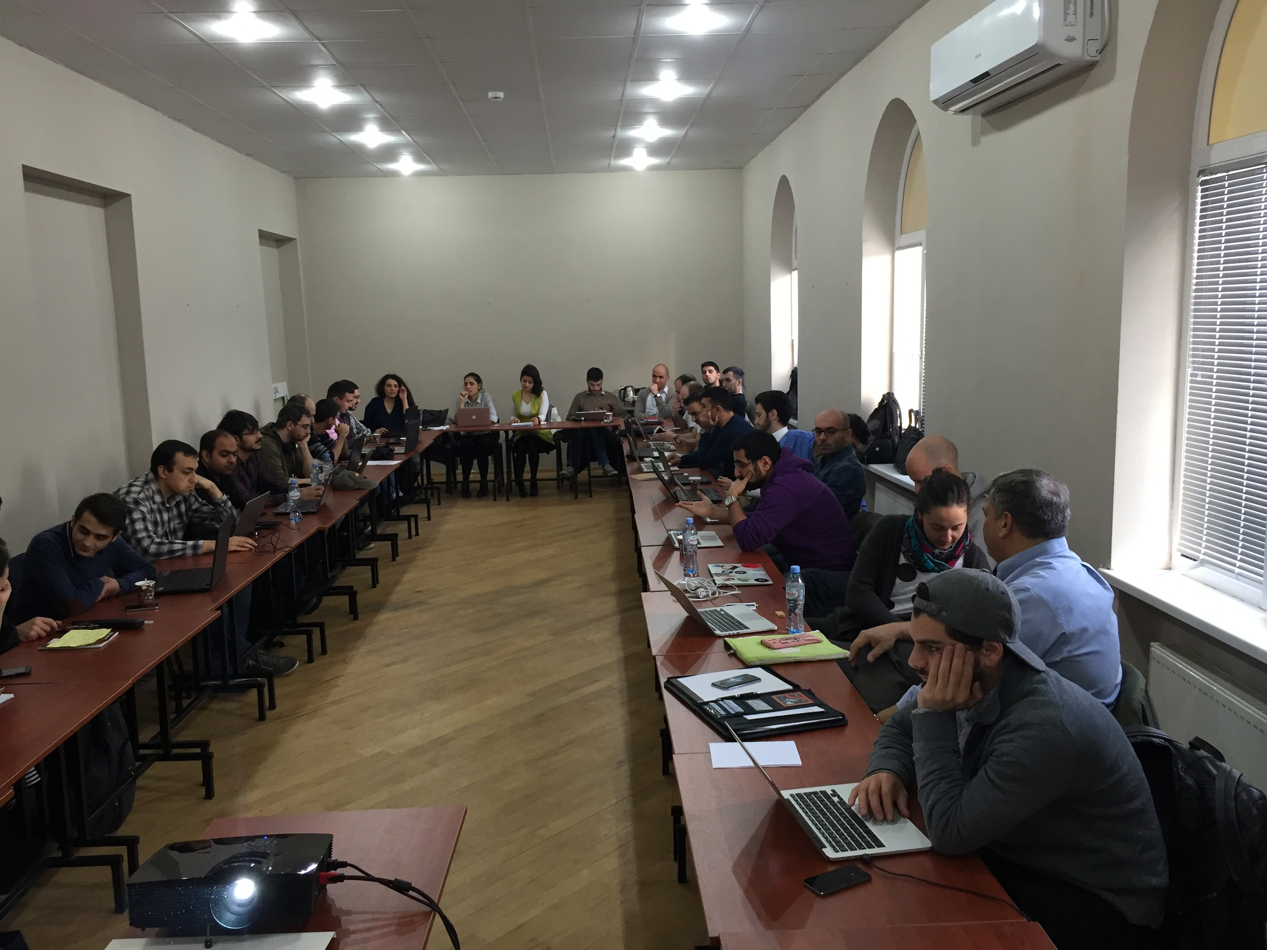 ABOVE: Traction Camp Tbilisi event participants (Nov 27-29)