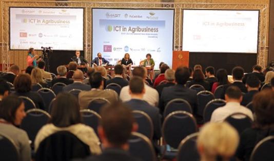 ABOVE: ICT in AG conference Nov. 2016 Skopje