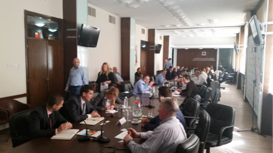 ABOVE:B2B Meetings in Belgrade (at the Chamber of Commerce of Serbia) with AG companies from Serbia and Bosnia and Herzegovina