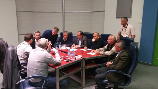 ABOVE:B2B Meetings in Skopje with companies from Albania, Macedonia and Kosovo