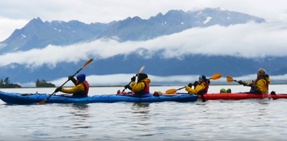 """ABOVE (ALL) Participants """"Going Big and Being Bold"""" in Anchorage for the Adventure Travel World Summit"""