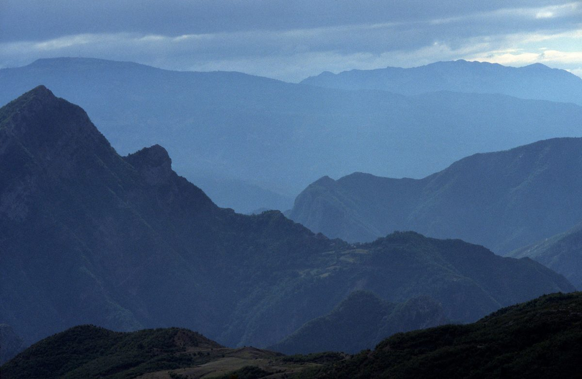 Albania's so-called 'Accursed Mountains,' which you'll reach on Day 15. (In Pictures Ltd./Corbis via Getty Images)