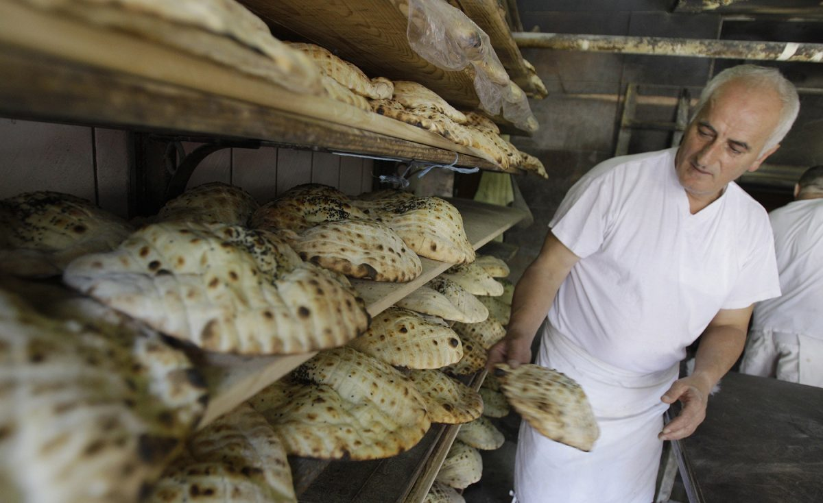 One of the most traditional Bosnian foods, according to MTS/Greenvisions' Thierry Joubert, is the 'pita,' a bread dish stuffed with fillings like cheese or potatoes. (Ismail Duru/Anadolu Agency/Getty Images)