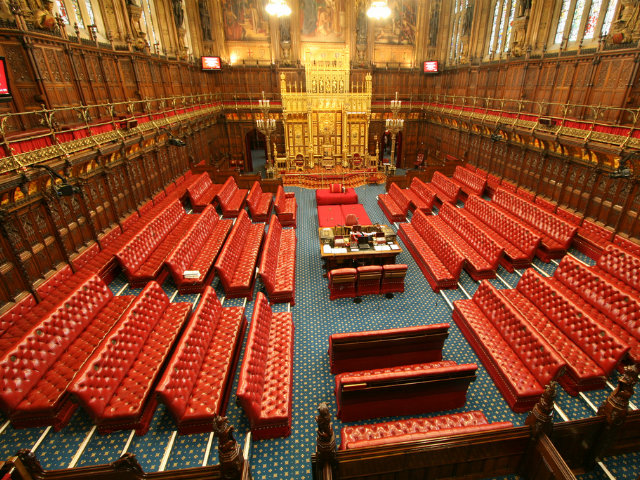 The House of Lords. Photo: Flickr/UK Parliament.