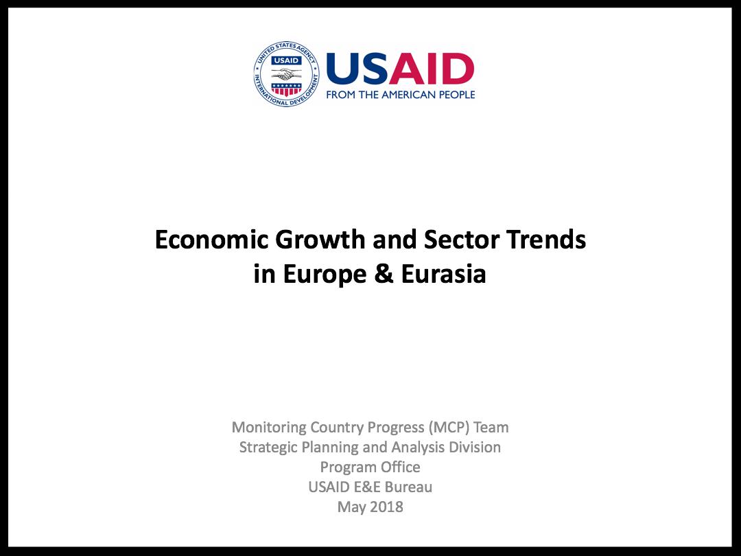 E&E Economic Growth Regional Trends