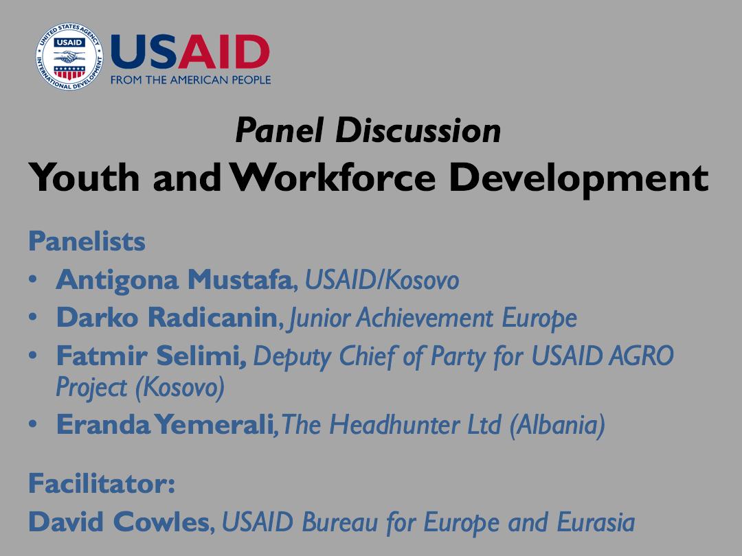 Workforce Development Panel