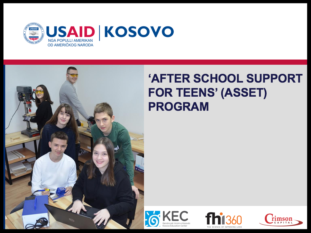 'After School Support for Teens' (ASSET) Program
