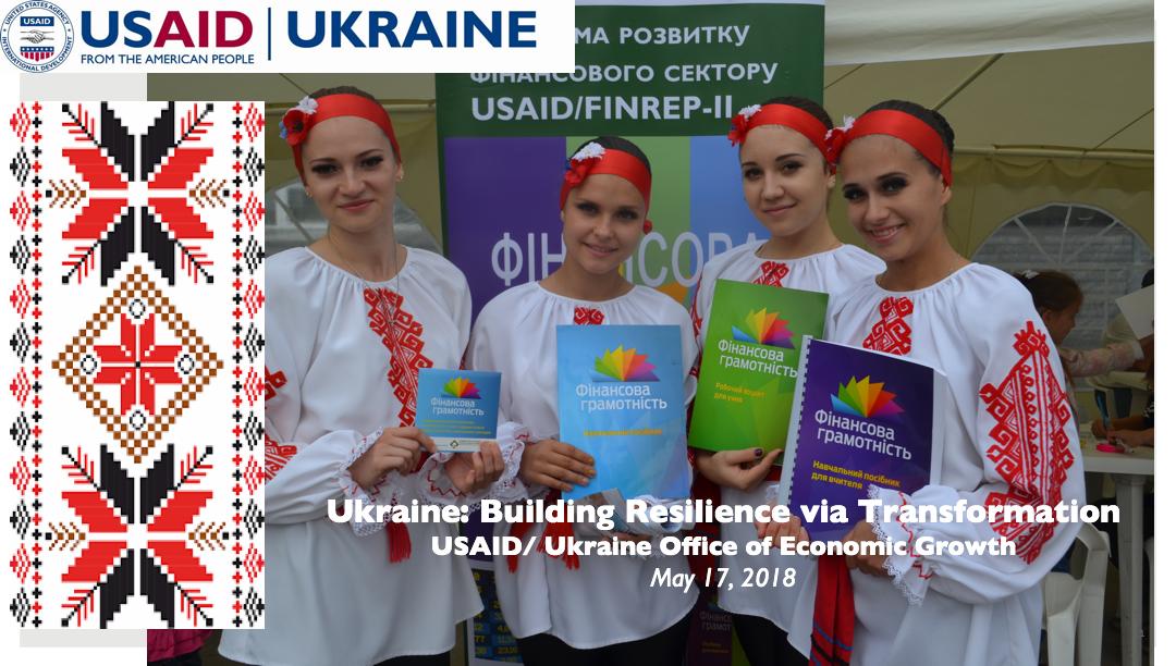 Ukraine: Building Resilience via Transformation