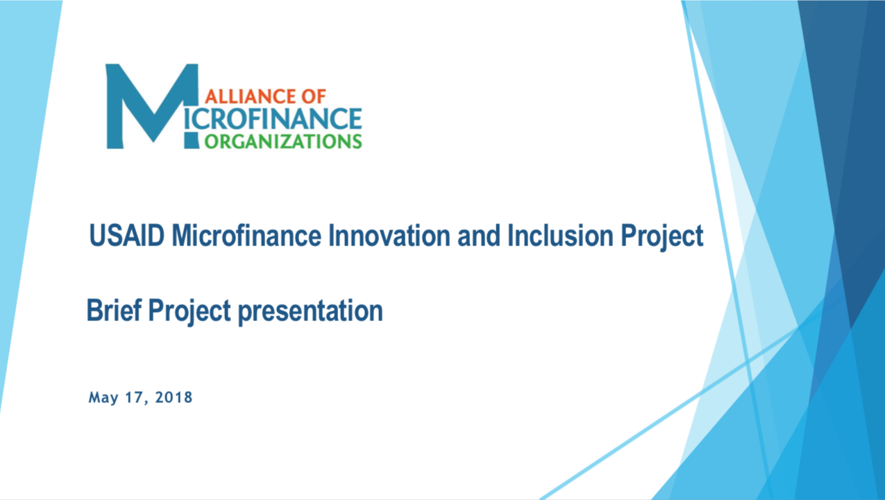 USAID Microfinance Innovation and Inclusion Project