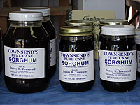 Jars of Kentucky Sorghum