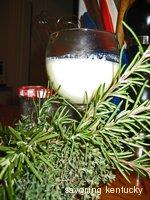 Stirred Custard Among the Herbs