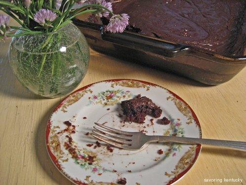 Western Chocolate Sheet Cake