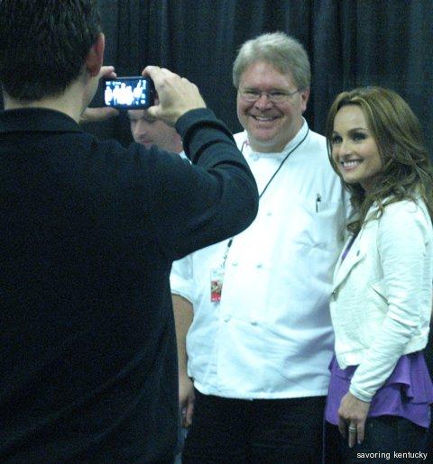 Giada De Laurentiis meets and greets at Incredible Food Show, Kentucky