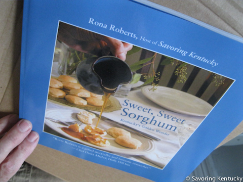 Looking good this time, the third proof copy of Sweet Sweet Sorghum