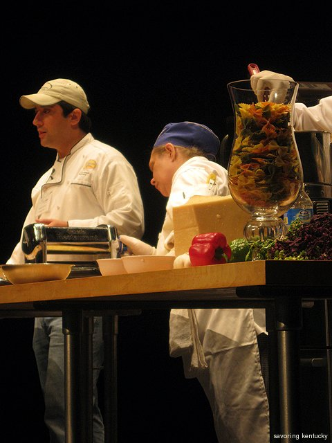 Lexington Pasta Company on stage