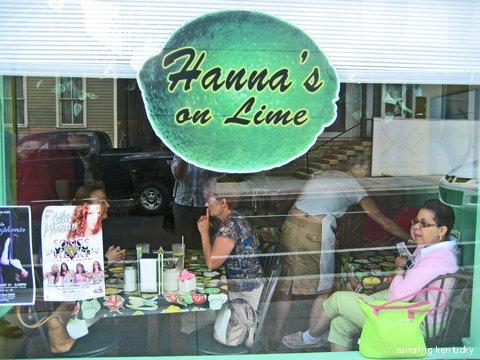 Hanna's on Lime, Lexington, Kentucky