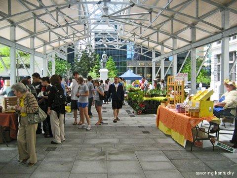 Fifth Third Pavilion at Cheapside Park, Lexington, Kentucky